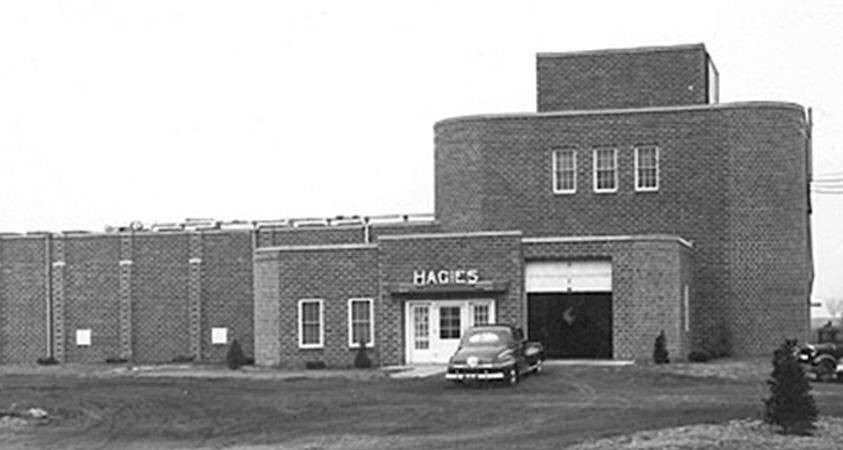 Hagie Building 1954
