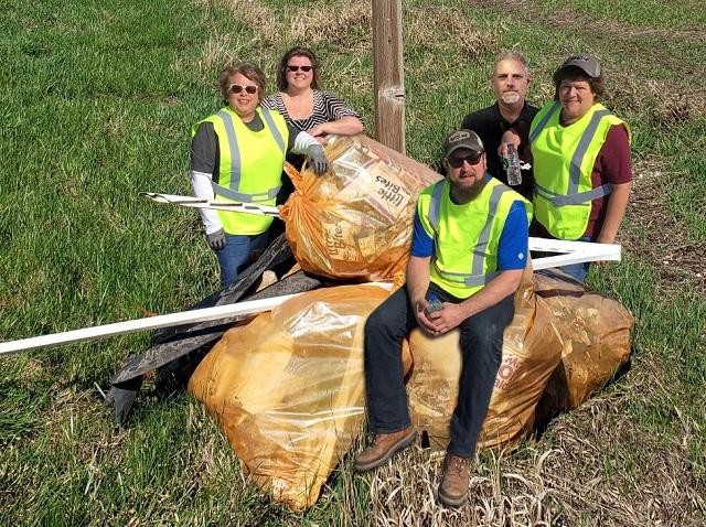 Hagie Clean Up Crew